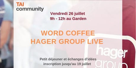 Workshop Hager Group Live tickets