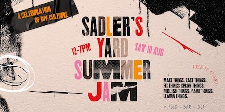 Sadler's Yard Summer Jam 2019 tickets