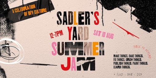 Sadler's Yard Summer Jam 2019