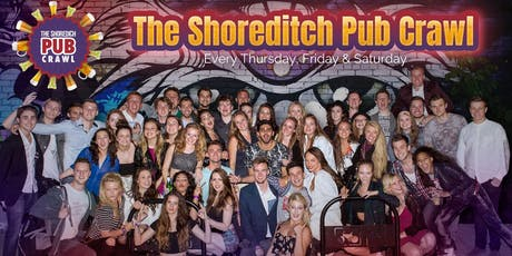 The Shoreditch Pub Crawl 2-4-1 Thursdays tickets