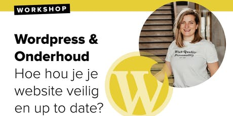 Workshop: WordPress - Beveiliging & Onderhoud tickets