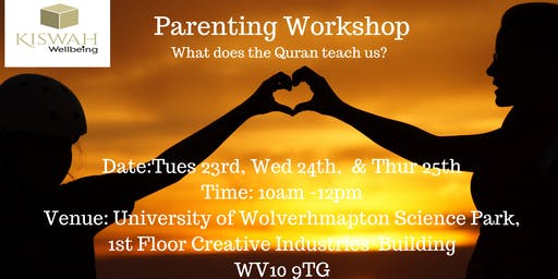 Kiswah Wellbeing Parenting Workshop