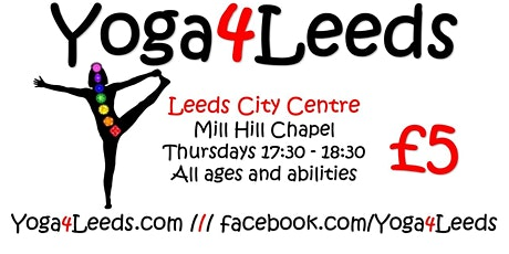 Yoga4Leeds in mill Hill Chapel tickets