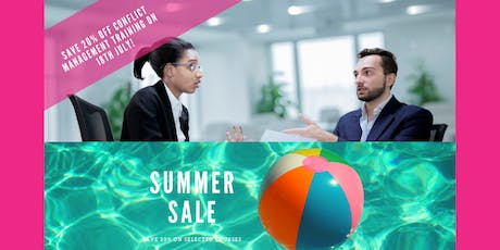 Conflict Management Training Course - Manchester - Summer Sale save 20%! tickets