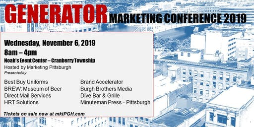 GENERATOR Marketing Conference