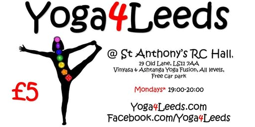 Yoga4Leeds in St Anthony's Hall