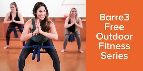 barre3 Needham x University Station Outdoor Summer Fitness Series tickets