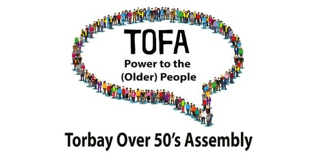 Torquay Over 50's Assembly meeting tickets