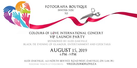 Colours of Love International Concert VIP Launch Party  tickets