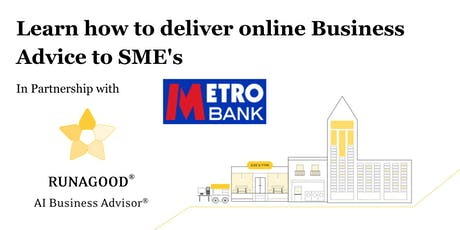 Get into Business Advisory in Partnership with Metro Bank tickets