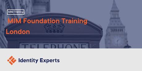 MIM Foundation Training - London tickets