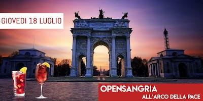Mit Cafè Milano - Giovedì 18 Luglio 2019 - AfterWork Arco Della Pace - Aperitivo Open Sangria con Dj Set - Lista Miami - Info e Tavoli al 338-7338905