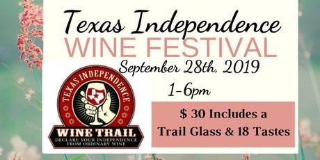 Texas Independence Wine Festival tickets