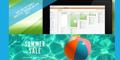 Google Analytics Training Course - Leeds -  Summer Sale - save 20%! tickets