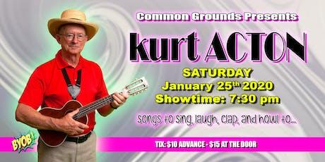 Kurt Acton tickets