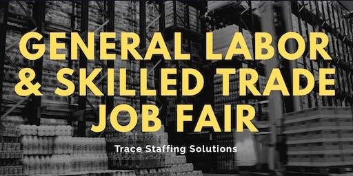 General Labor and Skilled Trade Job Fair