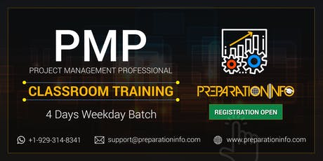 PMP Bootcamp Training & Certification Program in Manchester, New Hampshire tickets