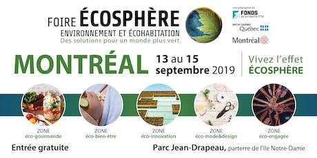 Foire Écosphère de Montréal billets