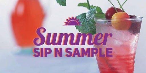 Summer Sip n Sample