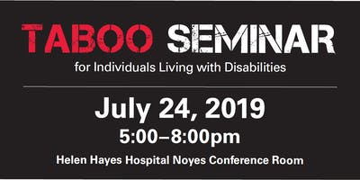 TABOO SEMINAR for Individuals Living with Disabilities