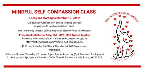 Mindful Self-Compassion Class tickets