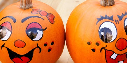 Mommy & ME - Pumpkin Painting Fun!