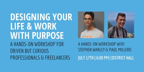 Designing Your Work & Life With Purpose tickets