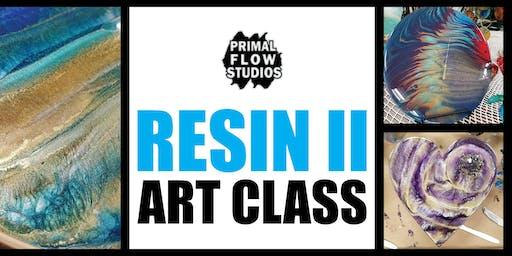 Resin Epoxy Art Class II