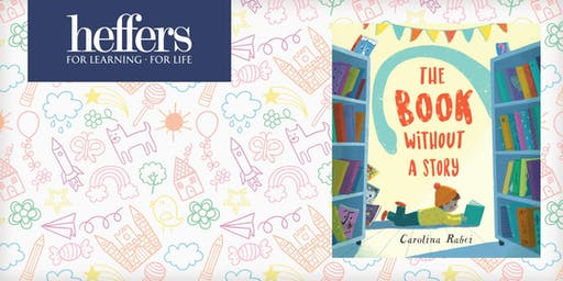 Children's Activities with Carolina Rabei - 'The Book Without a Story'.