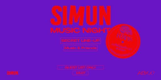 SIMUN MUSIC NIGHT X ABX10