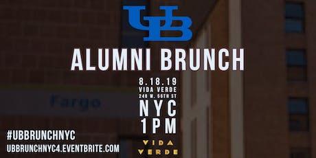 UB Alumni Brunch NYC IV tickets