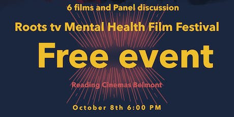 Roots tv mental health film Festival tickets