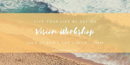 The Vision Workshop: 3 Keys To Accelerating Your Results