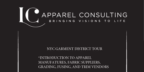 NYC GARMENT DISTRICT TOUR  tickets