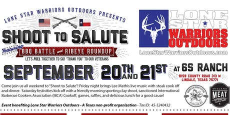 Shoot to Salute featuring BBQ Battle & Ribeye Roundup tickets