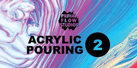 Adult Acrylic Pouring Class II tickets
