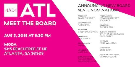 AIGA ATL Meet the Board – AUG 2019 tickets