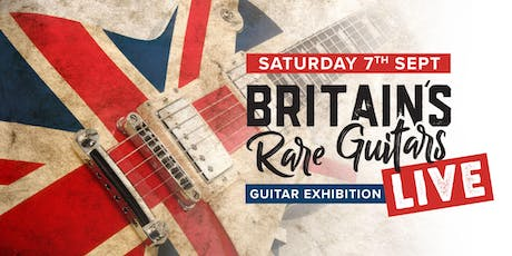 Britain's Rare Guitars Live tickets