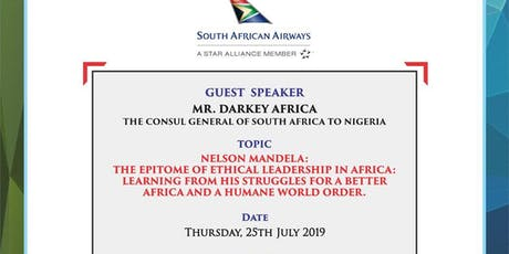 NIGERIA SOUTH AFRICA CHAMBER OF COMMERCE BREAKFAST INVITE tickets