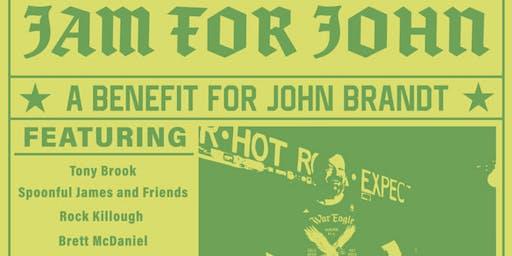 Jam for John- A Benefit for John Brandt
