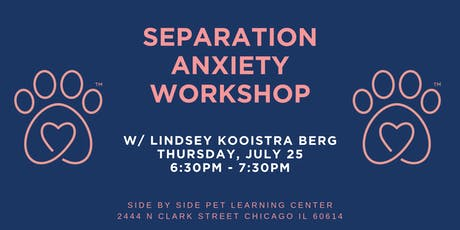 Separation Anxiety Workshop tickets