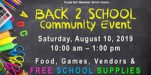 Back 2 School Community Event