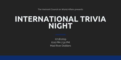 International Trivia Night