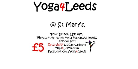 Yoga4Leeds in St Mary's  tickets