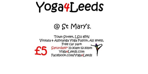 Yoga4Leeds in St Mary's