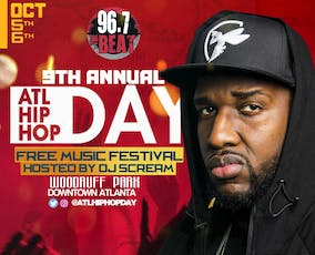9th Annual Atlanta Hip Hop Day Festival tickets