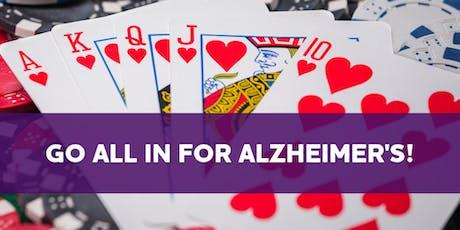 August 15th Charity Poker Tournament - Alzheimer's Association tickets