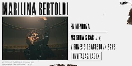 Marilina Bertoldi en Mendoza entradas