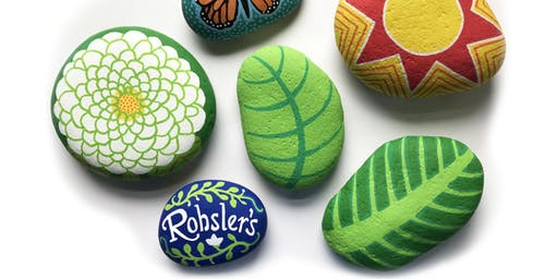 Rohsler's Free Rock Painting Workshop