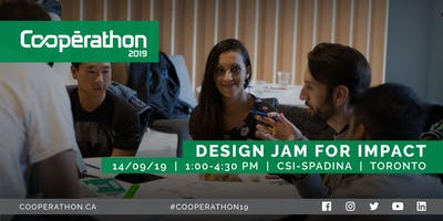 Cooperathon Design Jam for Impact at CSI